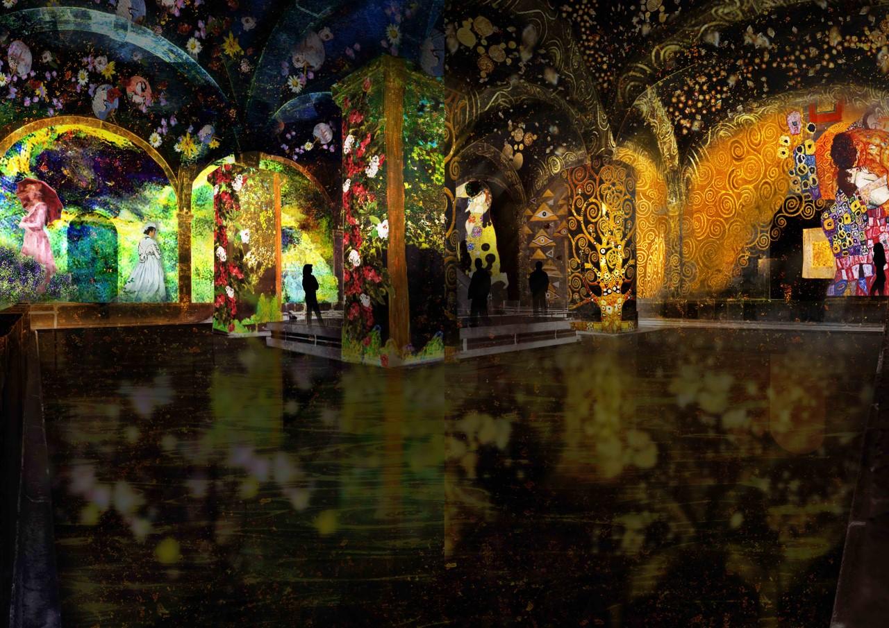 Lisboa-recebe-exposicao-imersiva-sobre-Monet-e-Klimt